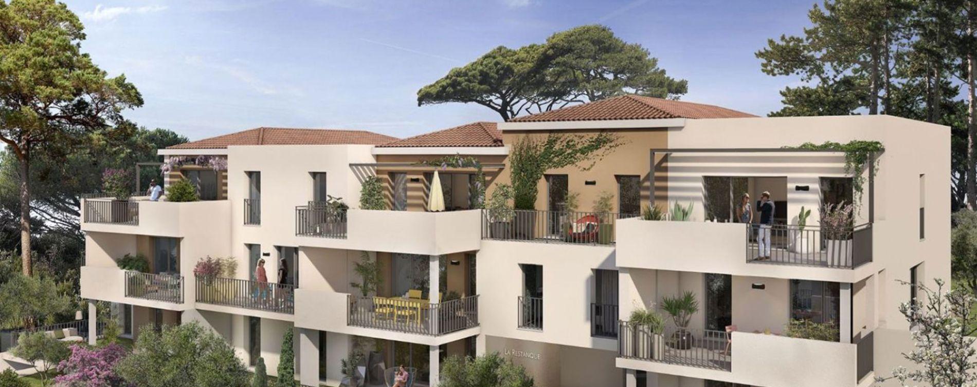 Aix-en-Provence : programme immobilier neuve « La Restanque » en Loi Pinel (3)