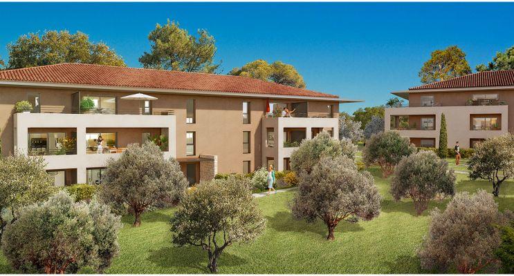 Résidence « Le Belmont » programme immobilier neuf en Loi Pinel à Aix-en-Provence n°2