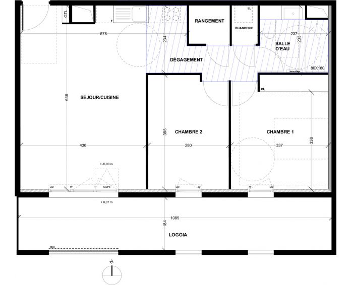 Appartement t3 aix en provence n 039 sud for Achat maison aix en provence