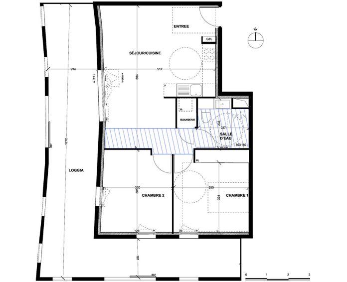 Appartement t3 aix en provence n 045 sud ouest for Achat maison aix en provence