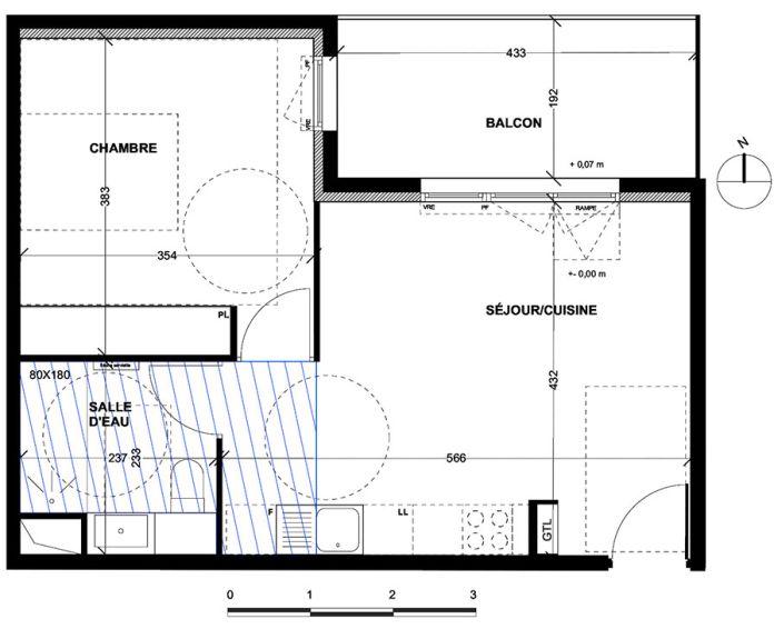 Appartement t2 aix en provence n 046 nord for Achat maison aix en provence