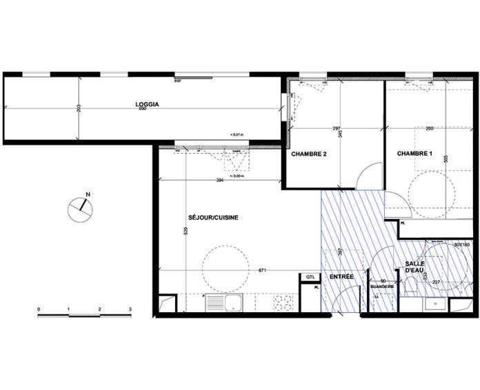 Appartement t3 aix en provence n 050 nord ouest for Achat maison aix en provence