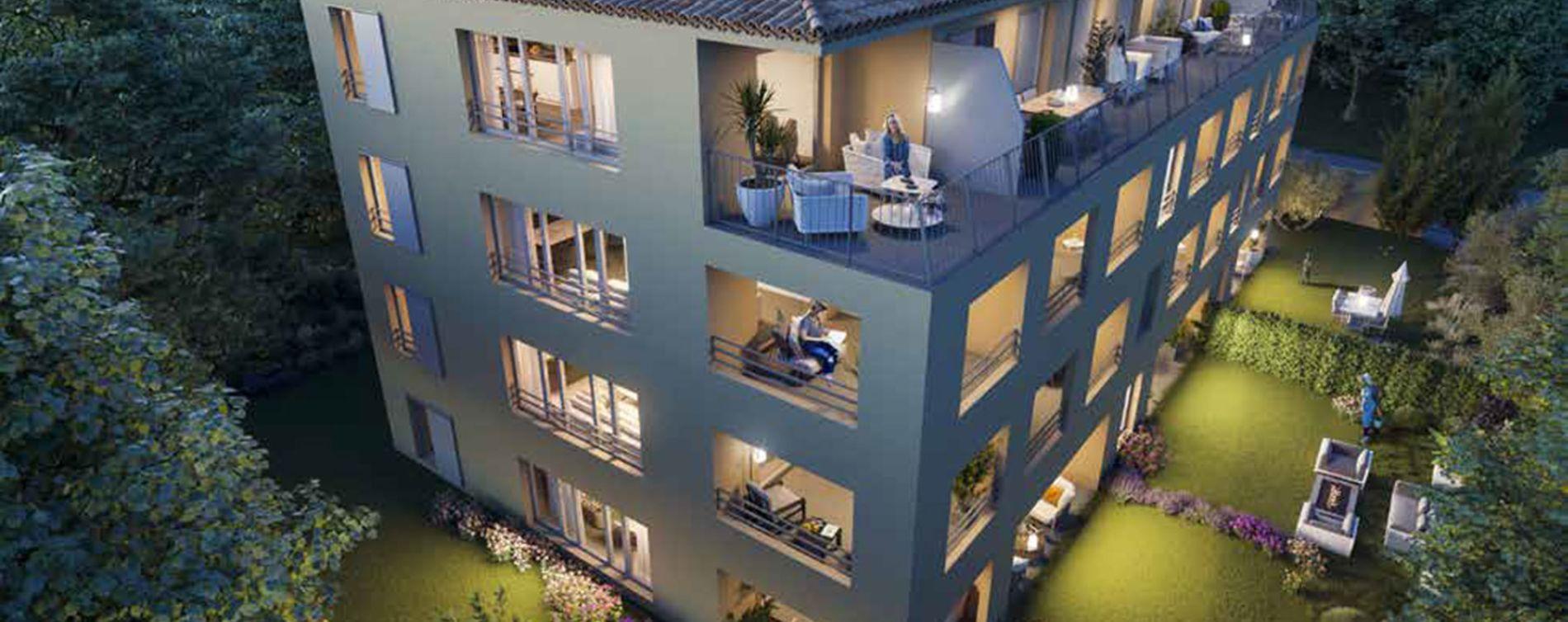 Aix-en-Provence : programme immobilier neuve « Montemaggi »