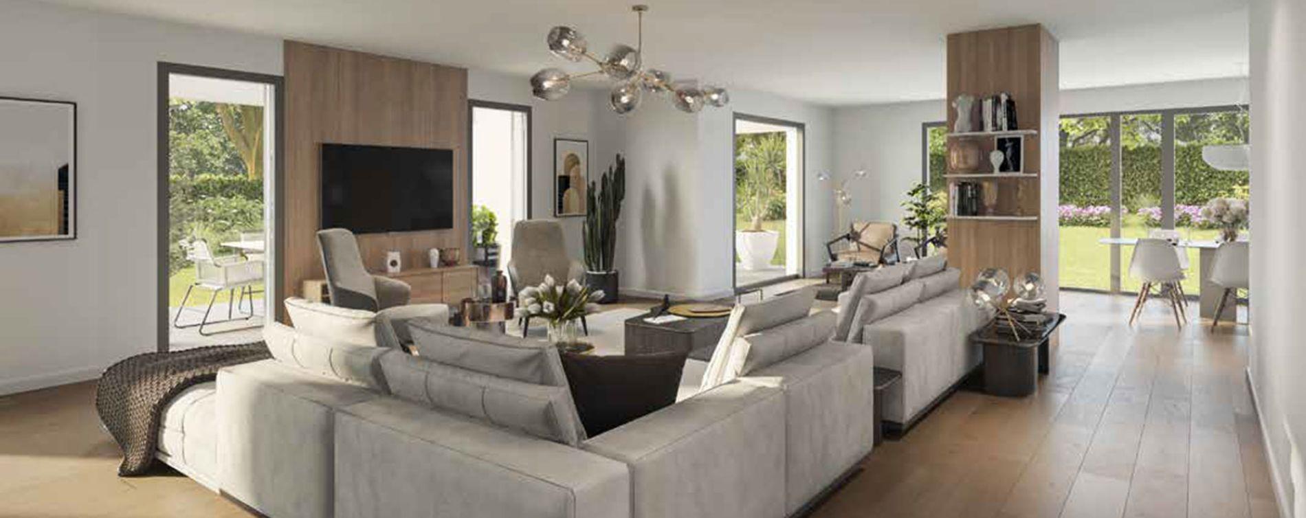 Aix-en-Provence : programme immobilier neuve « Montemaggi » (2)