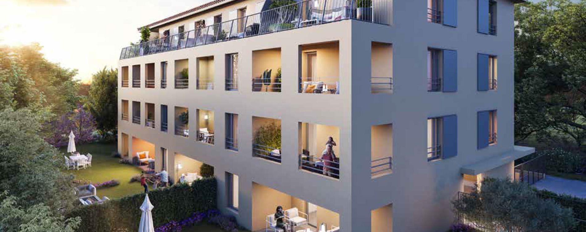 Aix-en-Provence : programme immobilier neuve « Montemaggi » (3)