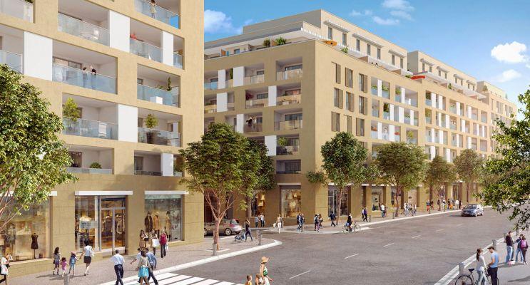 Résidence « Nouvelles Scènes » programme immobilier neuf en Loi Pinel à Aix-en-Provence n°1