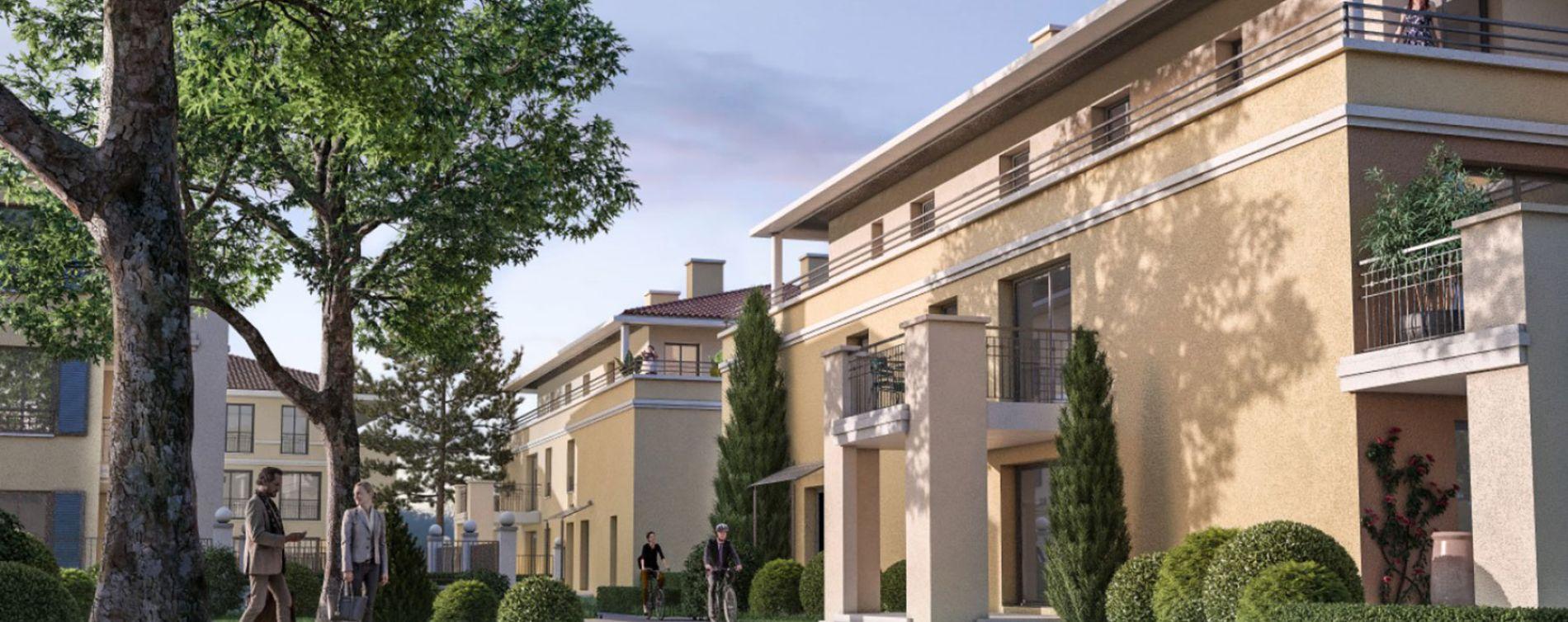 Aix-en-Provence : programme immobilier neuve « Un Jardin en Provence II » en Loi Pinel (2)
