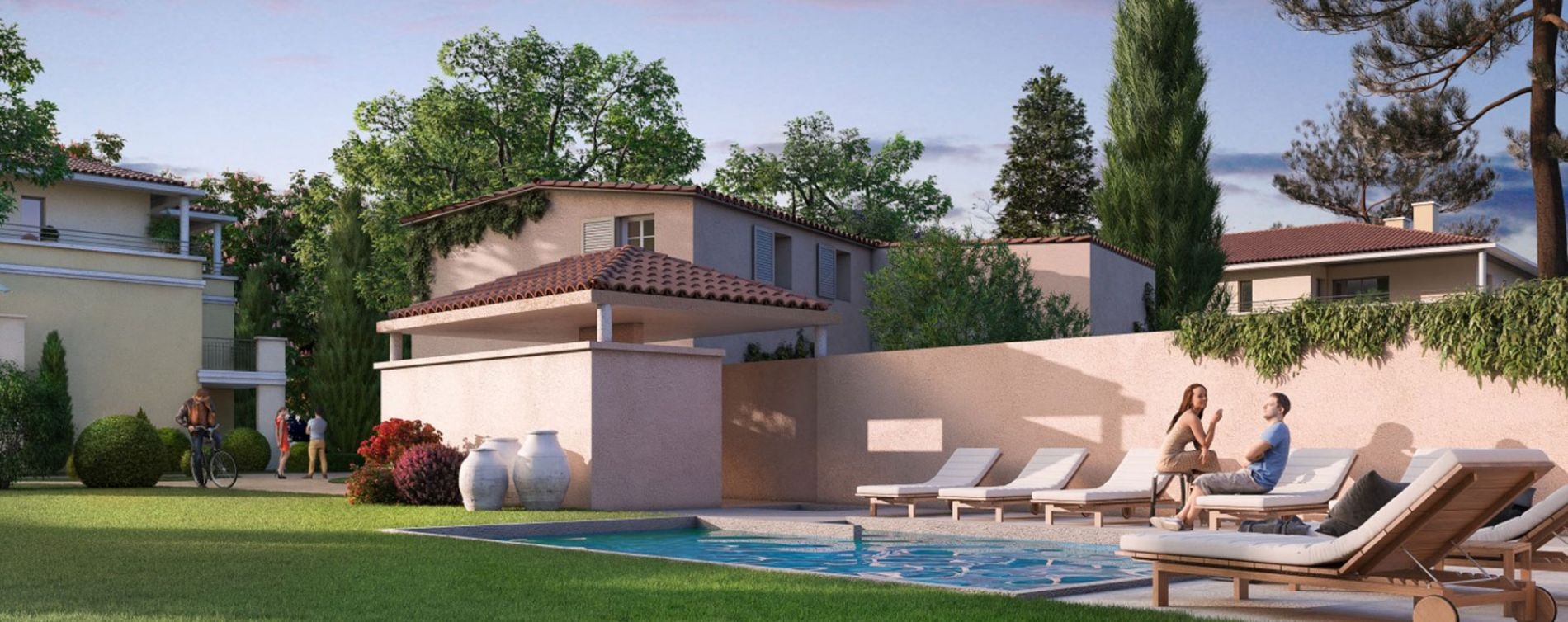 Aix-en-Provence : programme immobilier neuve « Un Jardin en Provence II » en Loi Pinel (3)