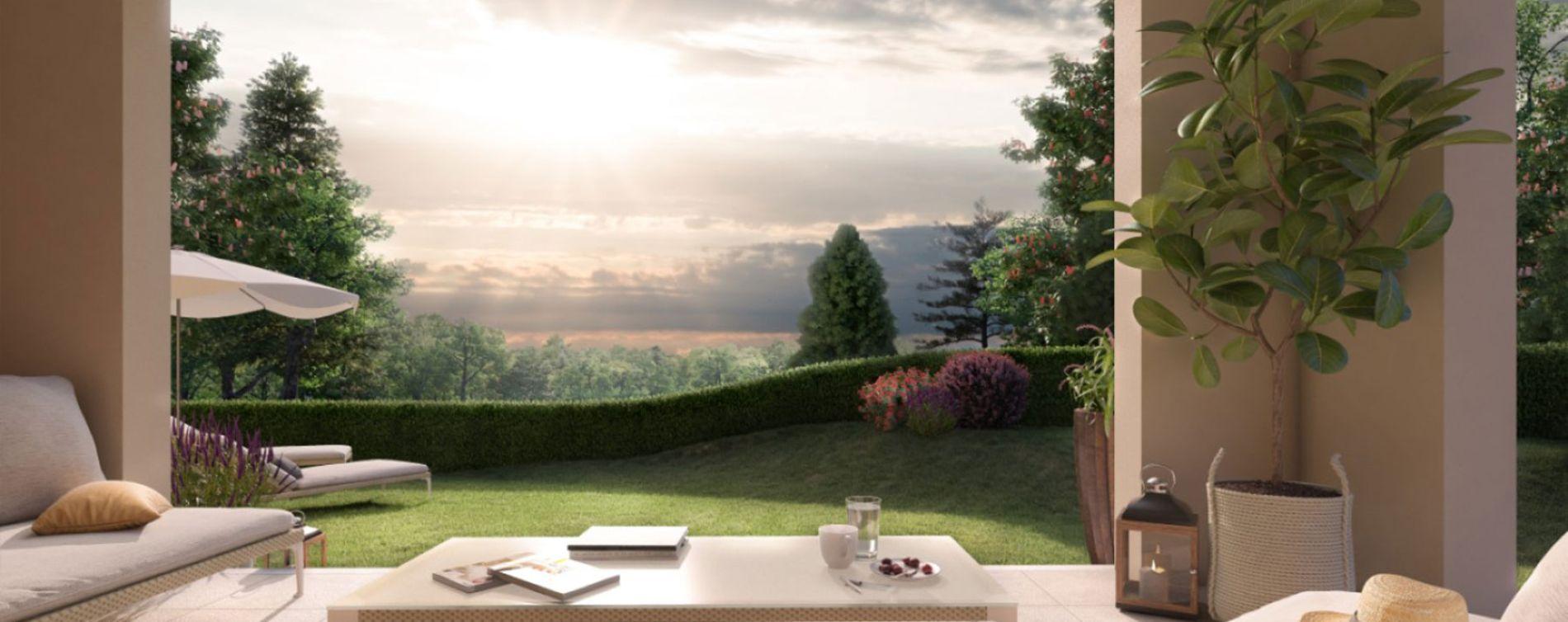 Aix-en-Provence : programme immobilier neuve « Un Jardin en Provence II » en Loi Pinel (5)