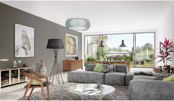 Aix-en-Provence programme immobilier neuve « Villa Edelweiss » en Loi Pinel  (2)