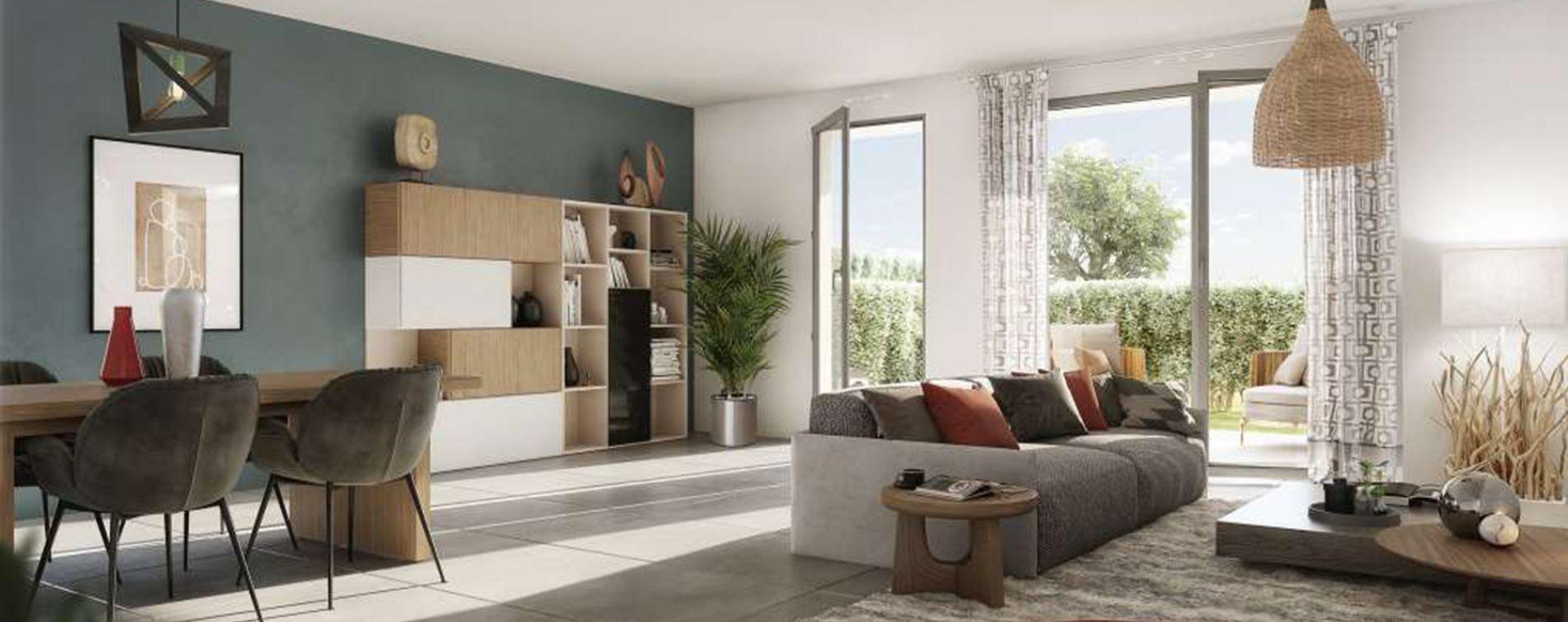 Aix-en-Provence : programme immobilier neuve « Villa Oleia » en Loi Pinel (2)