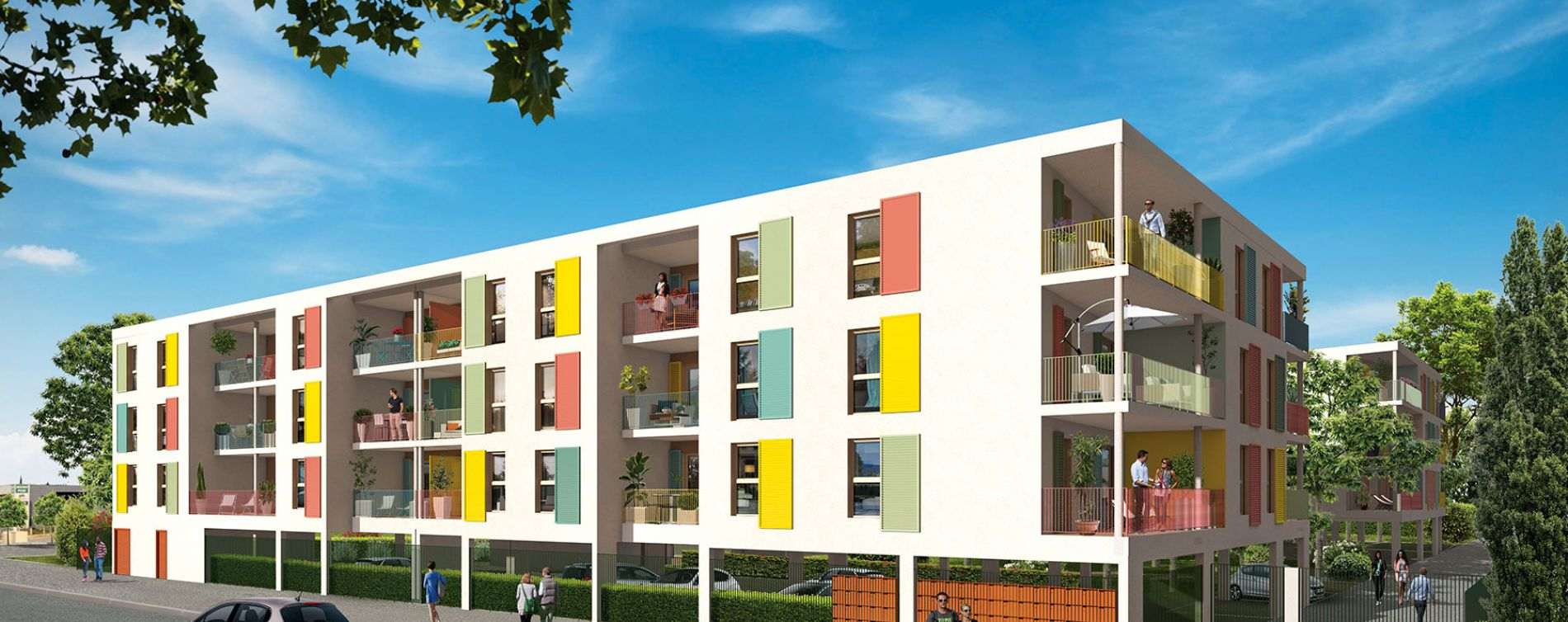 Arles : programme immobilier neuve « L'Aquarelle »