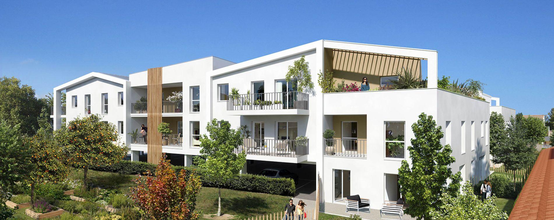 Arles : programme immobilier neuve « Le Vergers des Arts » en Loi Pinel