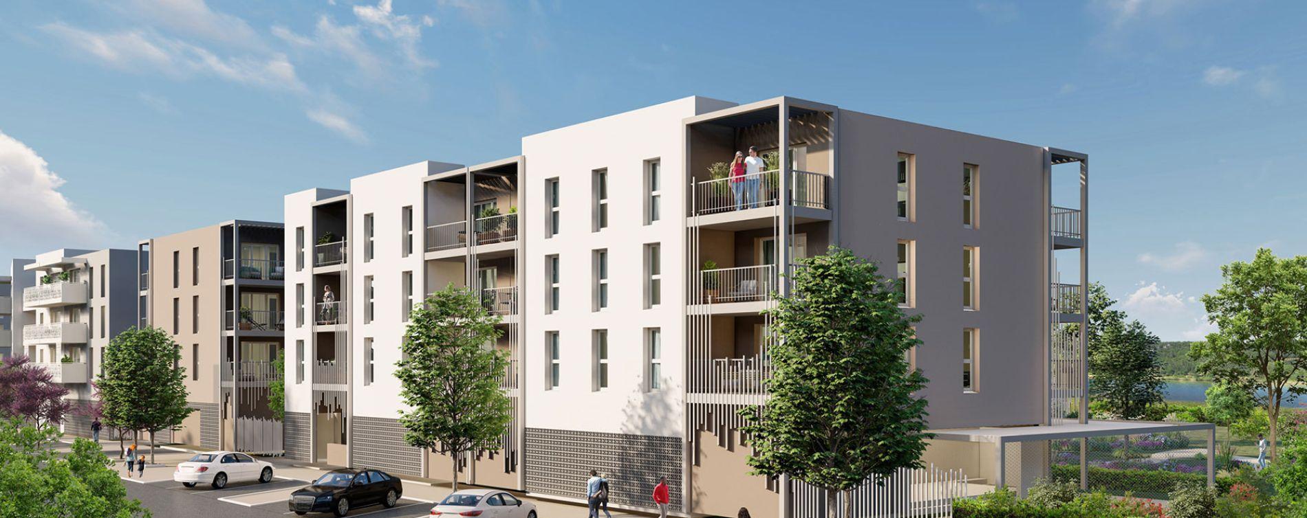 Arles : programme immobilier neuve « Les Jardins du Canal » en Loi Pinel
