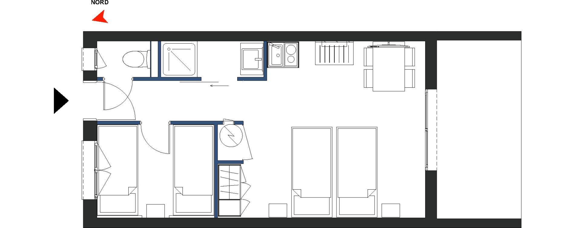 Plan T2 neuf à Arles de