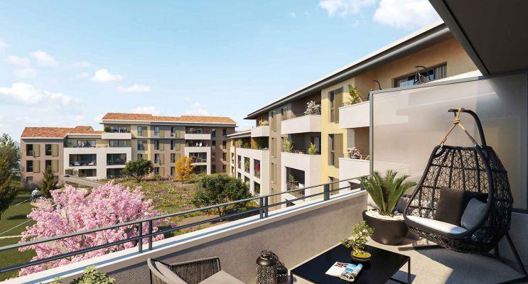 Photo du Résidence « La Cour des Dames » programme immobilier neuf en Loi Pinel à Auriol
