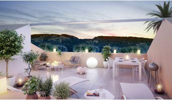Châteauneuf-les-Martigues programme immobilier neuve « Les Jardins de Bohème »
