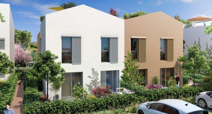 Photo n°2 du Résidence « Les Jardins De Bohème » programme immobilier neuf en Loi Pinel à Châteauneuf-les-Martigues