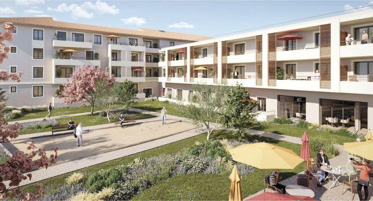 Photo du Résidence « L'Aubier de Tilia » programme immobilier neuf à Châteaurenard