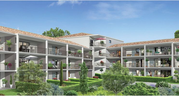 Photo n°2 du Résidence « L'Ecrin Du Massif » programme immobilier neuf en Loi Pinel à Cuges-les-Pins