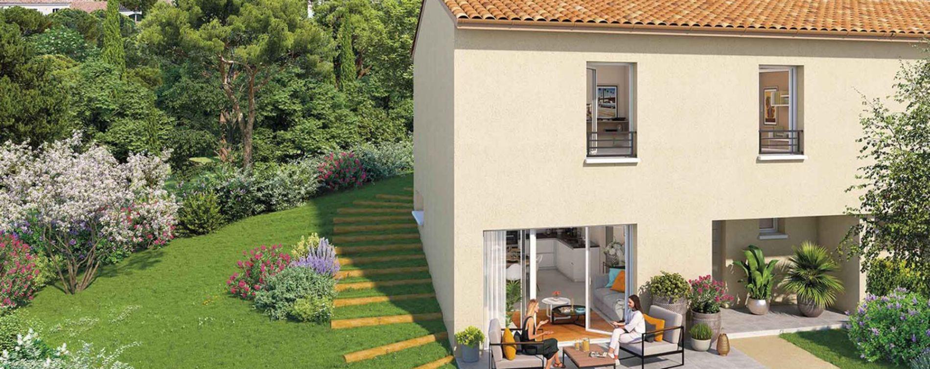 Gardanne : programme immobilier neuve « Harmonie Provence » (2)