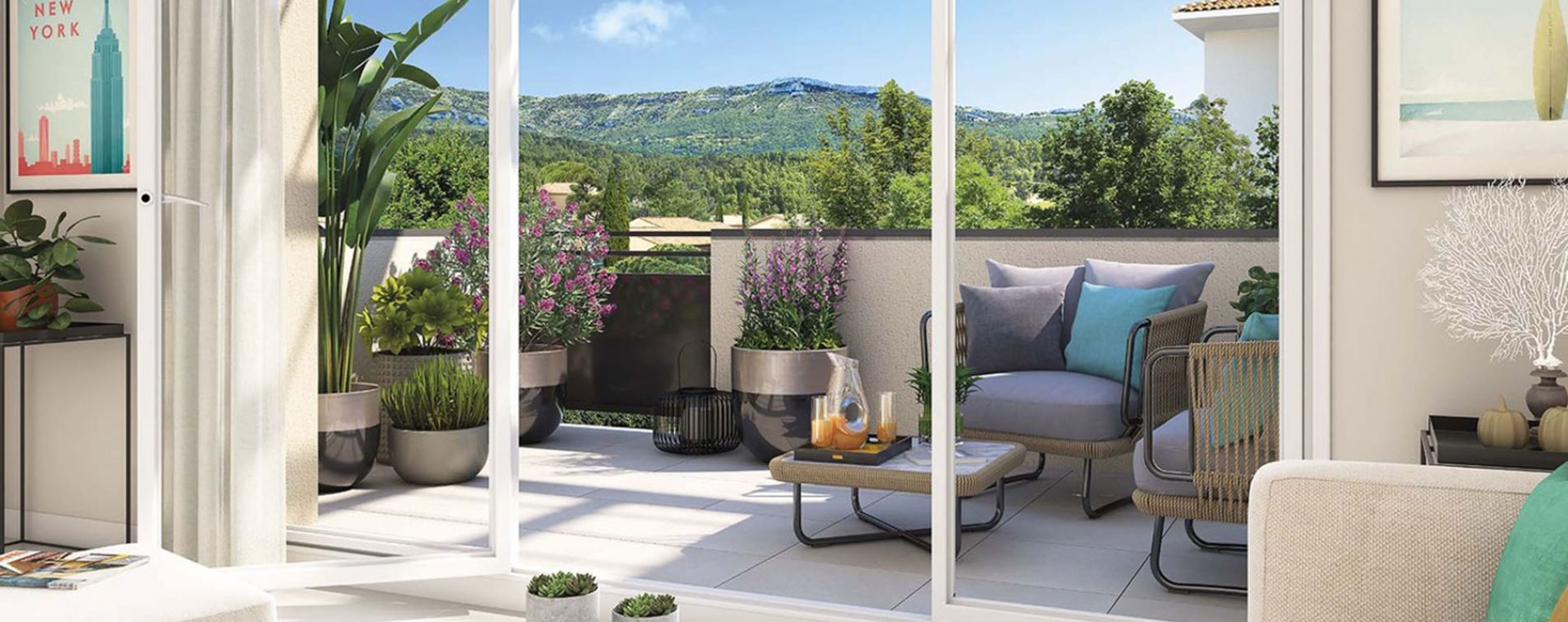 Gardanne : programme immobilier neuve « Harmonie Provence » (3)