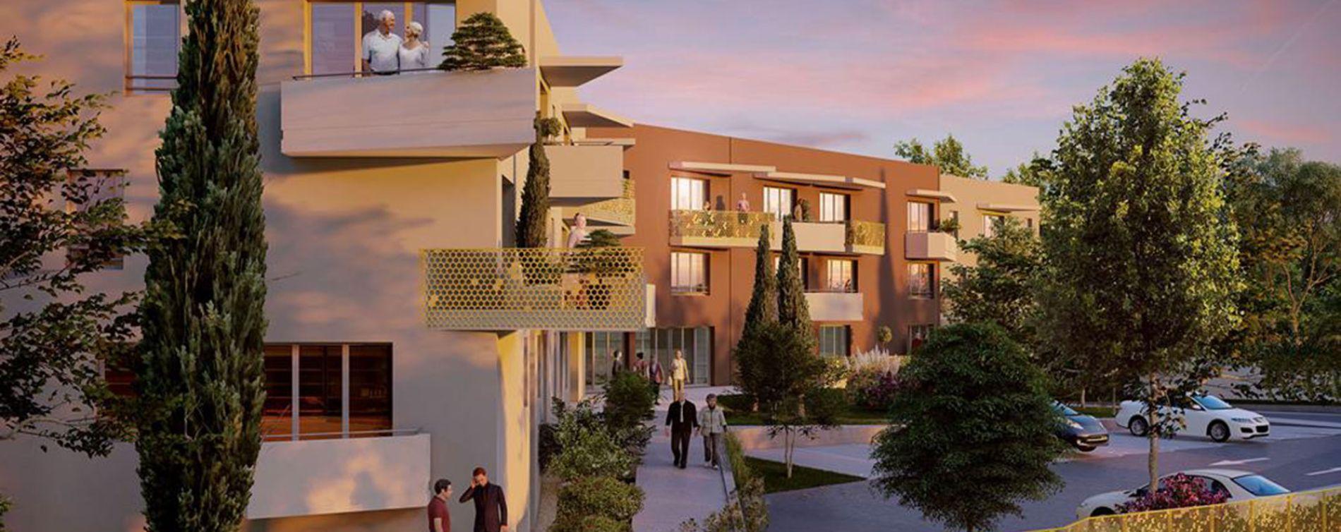 Gignac-la-Nerthe : programme immobilier neuve « Les Granettes »