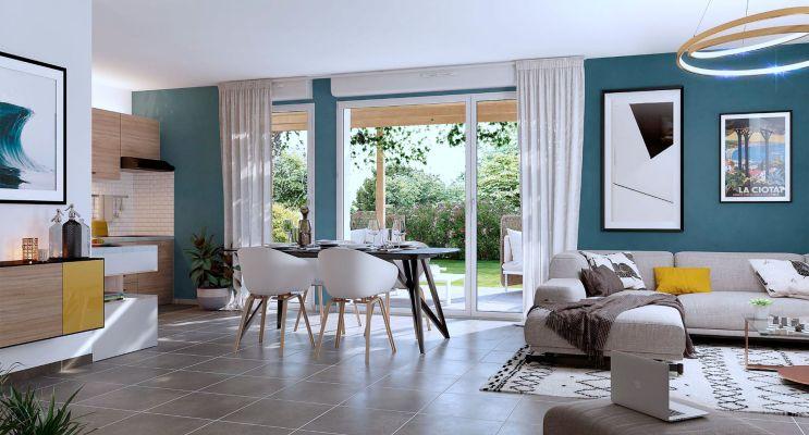 Résidence « Les Roches Bleues » programme immobilier neuf en Loi Pinel à La Ciotat n°4
