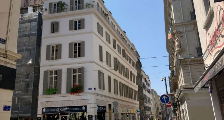 Photo du Résidence « 1 Rue Grignan » programme immobilier à rénover en Déficit Foncier à Marseille