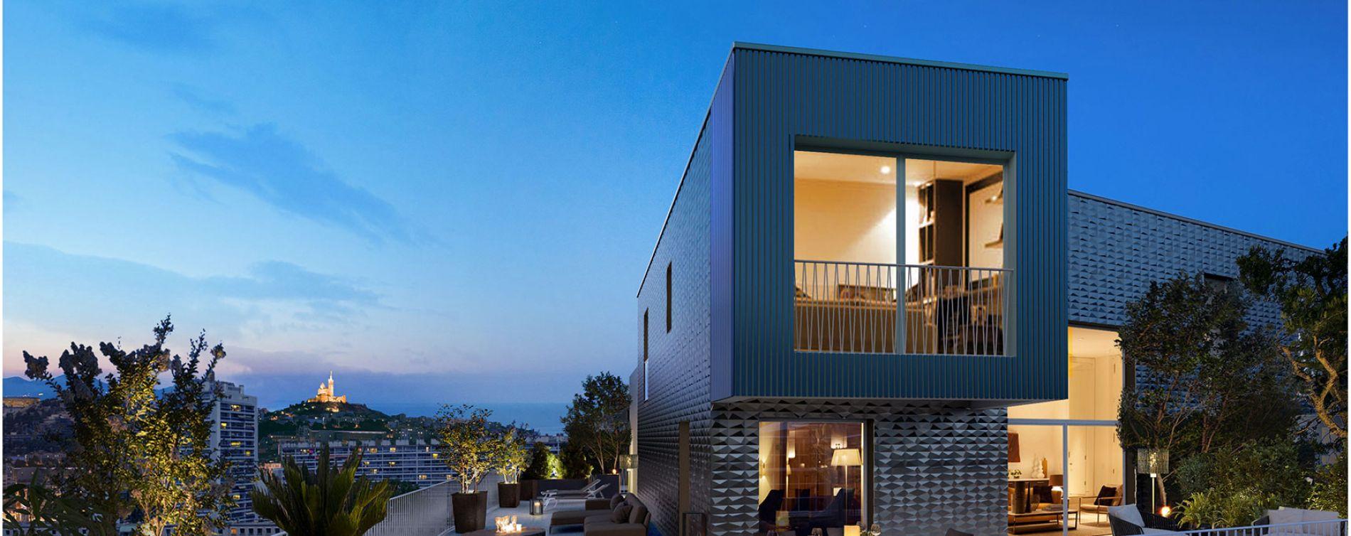 Marseille : programme immobilier neuve « 8ème Art » en Loi Pinel (3)