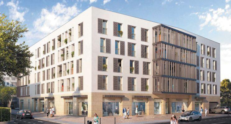 Marseille : programme immobilier neuf « Arbor&Sens » en Loi Pinel