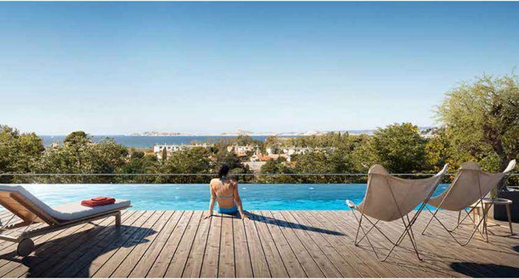 Photo du Résidence « Art'Chipel » programme immobilier neuf en Loi Pinel à Marseille