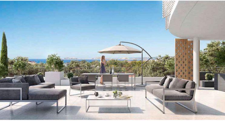 Résidence « Art'Chipel » programme immobilier neuf en Loi Pinel à Marseille n°3