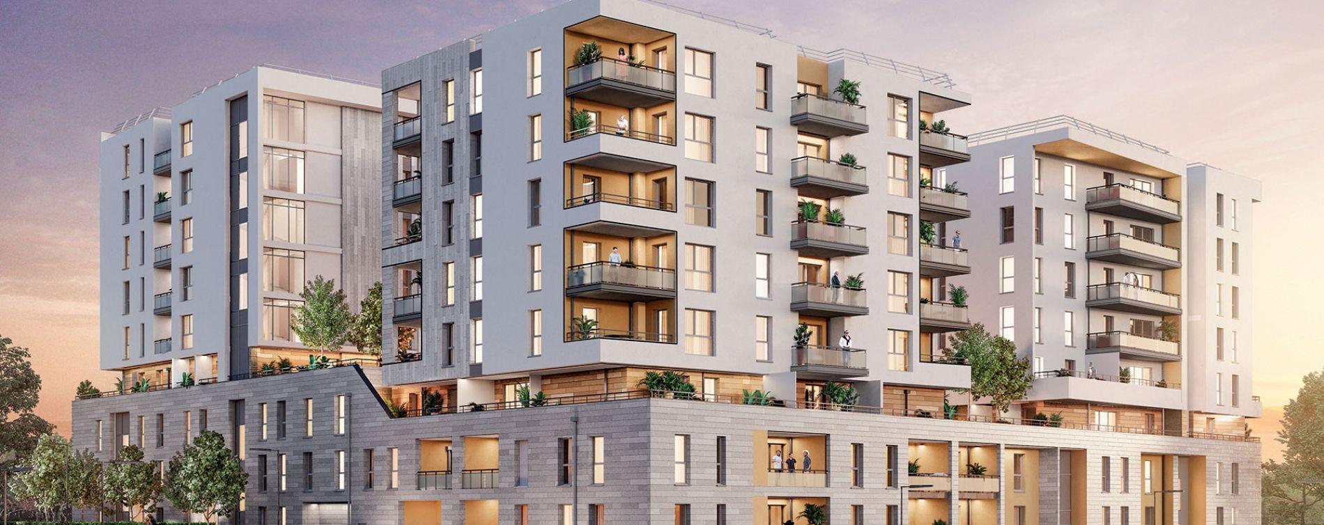 Marseille : programme immobilier neuve « Attitude 12 » en Loi Pinel