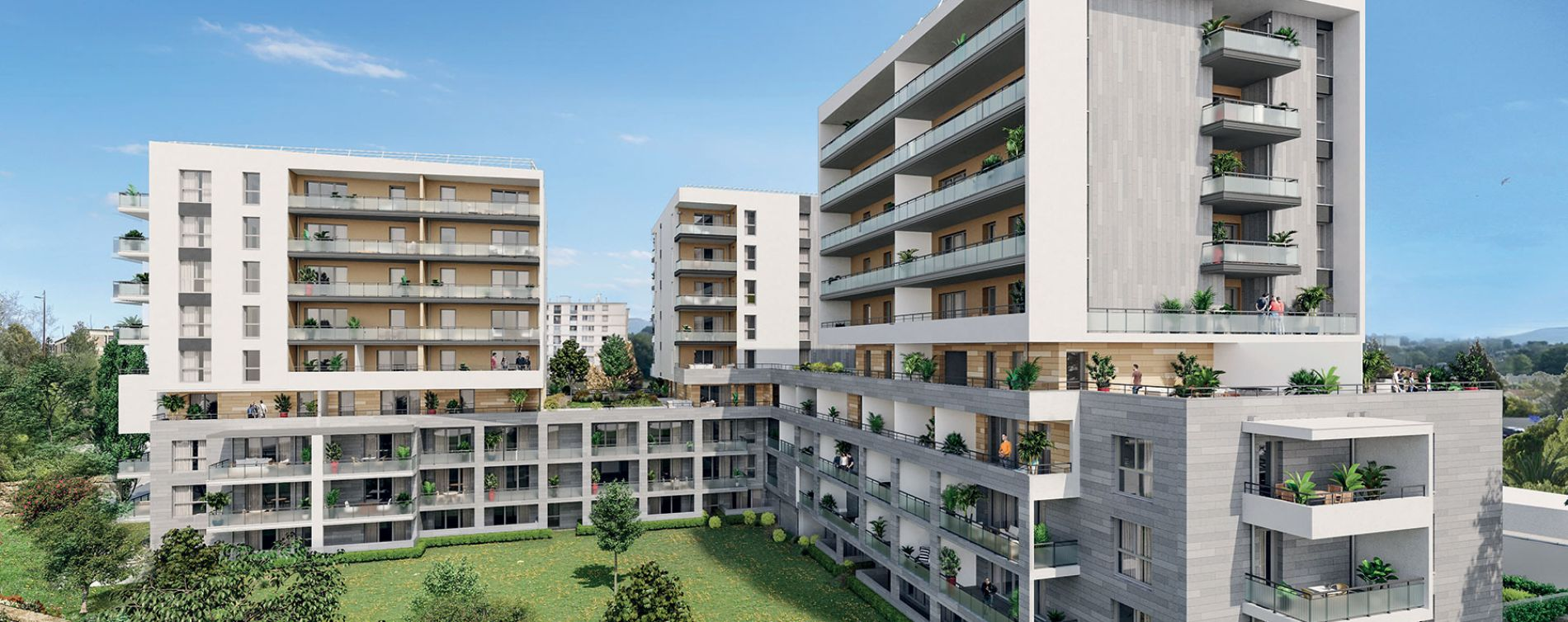 Marseille : programme immobilier neuve « Attitude 12 » en Loi Pinel (2)