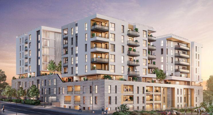 Marseille : programme immobilier neuf « Attitude 12 » en Loi Pinel