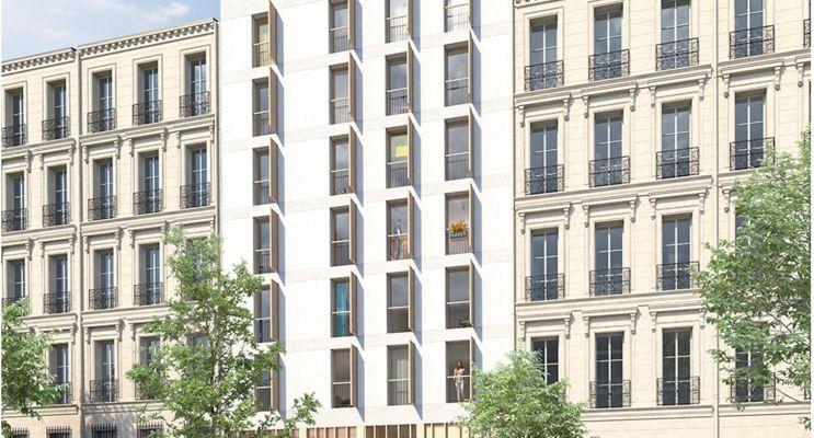 Photo n°2 du Résidence « Authenticity » programme immobilier neuf en Loi Pinel à Marseille