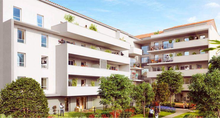 Marseille : programme immobilier neuf «  n°215819 » en Loi Pinel