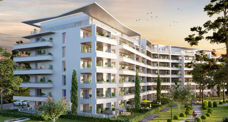 Résidence « Chateau Valmante - Admir' » programme immobilier neuf en Loi Pinel à Marseille n°2
