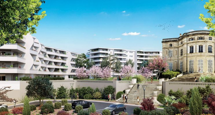 Photo du Résidence « Château Valmante - Sourir' » programme immobilier neuf en Loi Pinel à Marseille