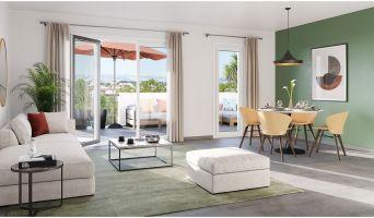 Marseille programme immobilier neuve « Coeur Garoutte »  (2)