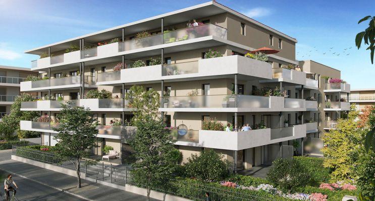 Photo du Résidence « Coeur Garoutte » programme immobilier neuf en Loi Pinel à Marseille