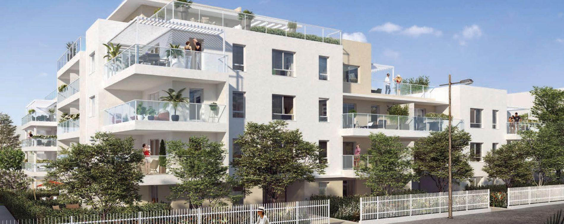 Marseille : programme immobilier neuve « Programme immobilier n°218320 » en Loi Pinel