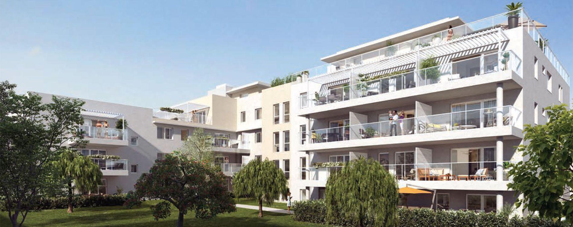 Marseille : programme immobilier neuve « Programme immobilier n°218320 » en Loi Pinel (2)