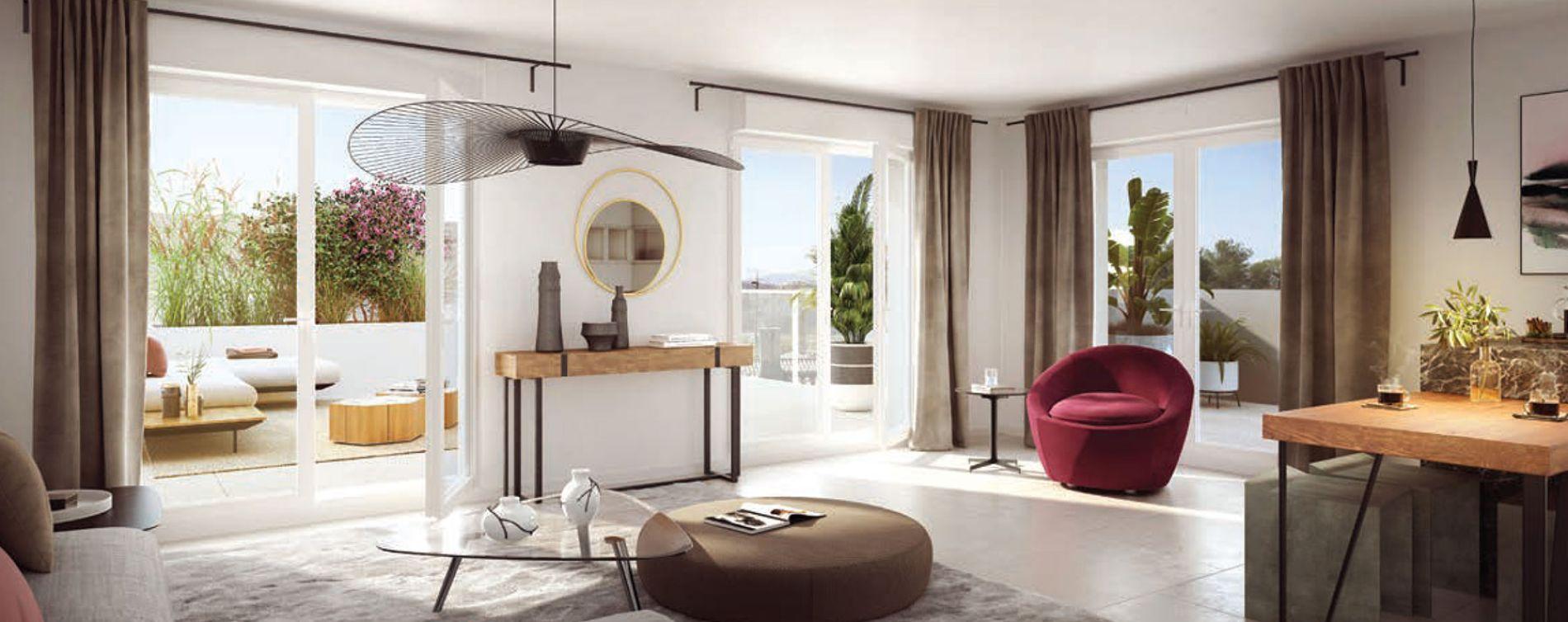 Marseille : programme immobilier neuve « Programme immobilier n°218320 » en Loi Pinel (4)