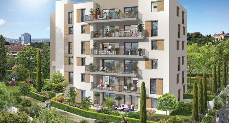 Photo du Résidence « Colline d'Azur » programme immobilier neuf en Loi Pinel à Marseille