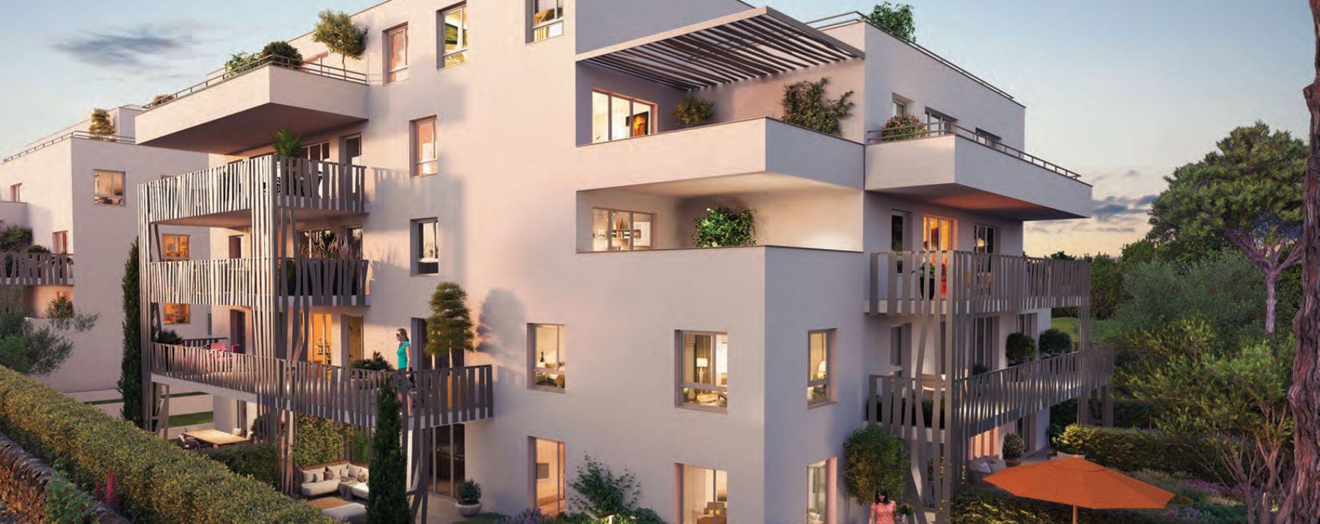 Marseille : programme immobilier neuve « Confiden'Ciel » en Loi Pinel