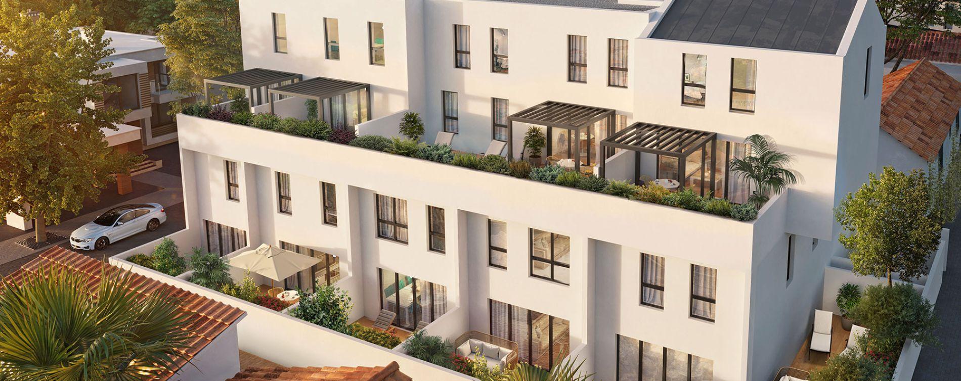Marseille : programme immobilier neuve « Eden Blue » en Loi Pinel