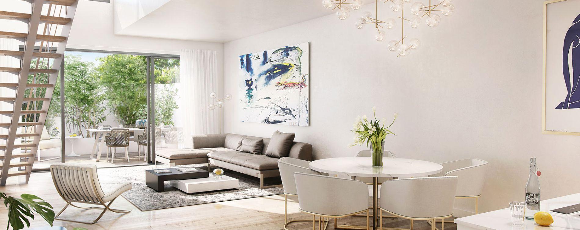 Marseille : programme immobilier neuve « Eden Blue » en Loi Pinel (2)