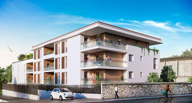Marseille : programme immobilier neuf « Élégance - Château Gombert » en Loi Pinel